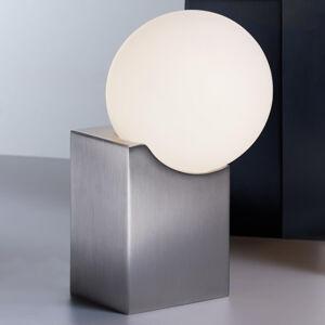 Pujol Stolní lampa Cub 17,5 cm nikl matný