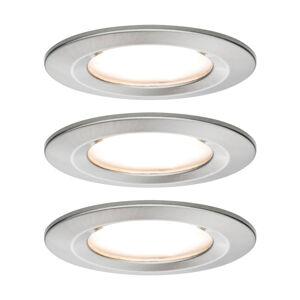 Paulmann Paulmann 3 bodové svítidlo Nova Coin kulaté železo