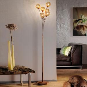 Paul Neuhaus Stojací lampa Greta vrezavém designu