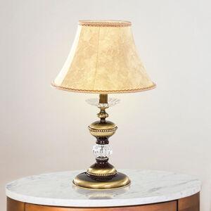 RIPERLamP Stolní lampa Chateau 56cm zlatá, krémová, čirá