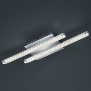 Reality Leuchten LED stropní svítidlo Street 2zdr vzhled křišťálu