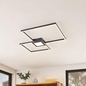 Lindby Lindby Duetto LED stropní svítidlo antracit 28 W