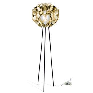 Slamp Slamp Flora - designová stojací lampa, zlatá