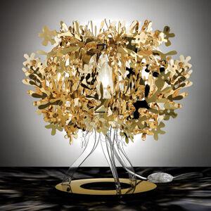 Slamp Slamp Fiorellina - zlatá stolní lampa