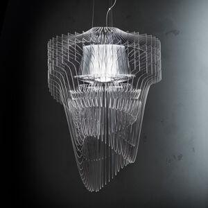 Slamp Slamp Aria - LED závěsné světlo, 75 cm, čiré