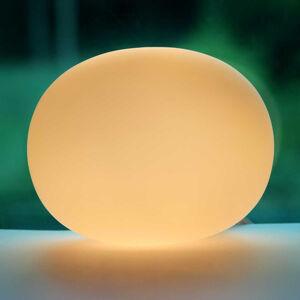 Sompex Stolní lampa skleněná Oval mini 12 cm