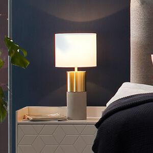 Villeroy & Boch Villeroy & Boch Turin stolní lampa, beton 33 cm