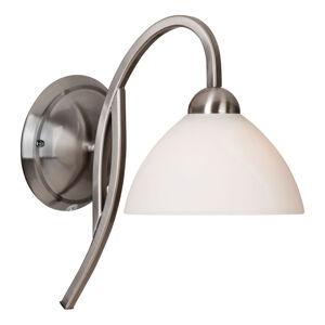 Steinhauer BV Nástěnné světlo Capri ocel/bílé