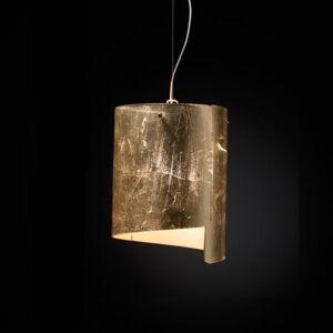 Selene Závěsné světlo Papiro, Ø 26 cm, zlaté