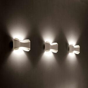 Selene Bílé designové nástěnné světlo Ionica