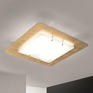 Selene Stropní světlo Pop UP s pozlaceným rámem, 32x32cm