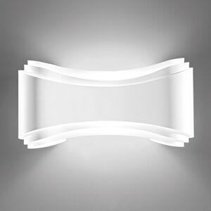 Selene LED designové nástěnné světlo Ionica v bílé barvě