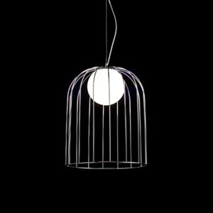 Selene Velké designové závěsné světlo Kluvi, chrom