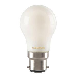 Sylvania B22 4W 827 LED kapková žárovka, matná
