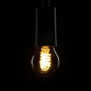 Segula SEGULA LED žárovka E27 8W Curved ambient smoke
