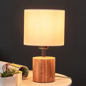 Spot-Light Stolní lampa Trongo, válec olej, stínidlo
