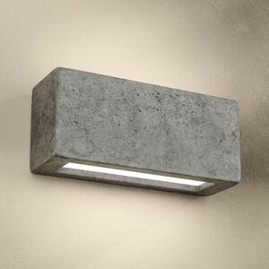 Spot-Light Z betonu odlité nástěnné světlo Proof