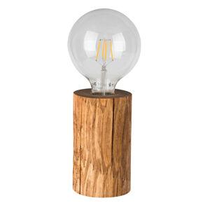 Spot-Light Stolní lampa Trabo, mořená borovice, výška 15cm