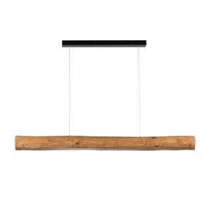 Spot-Light Závěsné světlo Lucas, mořená borovice 115 cm