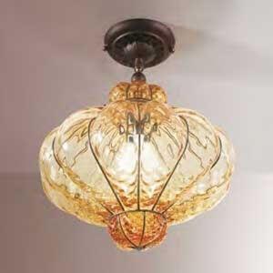 Siru Stropní světlo sklo Murano SULTANO, 42 cm