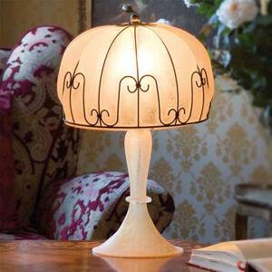 Siru Ručně vyrobená stolní lampa MEDUSA, jantar