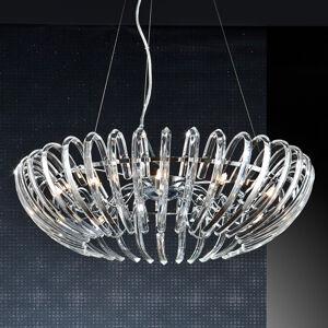 Schuller Závěsné světlo Ariadna křišťál čirý 66 cm