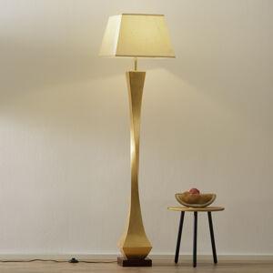 Schuller Stojací lampa s ušlechtilým designem zlatá