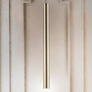 Schuller LED závěsné světlo Varas, jeden zdroj, zlatá
