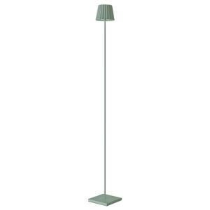Sompex Stojací lampa LED Troll venkovní, zelená