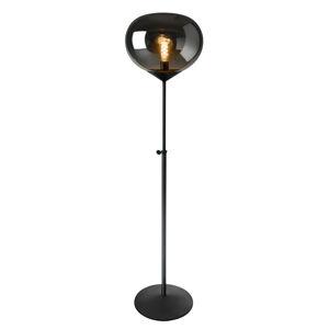 Sompex Stojací lampa Drop, kouřové sklo, nastavitelná