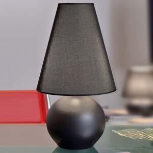 ONLI Stolní lampa Sfera, výška 44 cm, černá