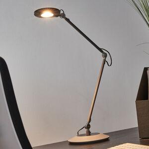 Trio Lighting Antracitové stolní LED světlo Roderic