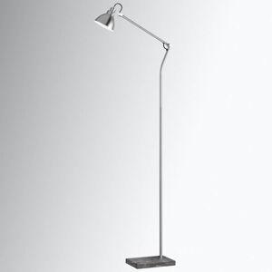 Trio Lighting Stojací lampa Timber s dřevěnými aplikacemi