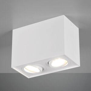 Trio Lighting Stropní světlo Biscuit, dvoužárovkové, bílé