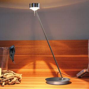 Top Light Stmívací stolní lampa PUK TABLE, chrom