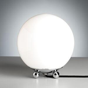 TECNOLUMEN TECNOLUMEN - Art Deco stolní lampa, chrom