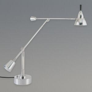 TECNOLUMEN TECNOLUMEN Eduard-Wilfrid Buquet stolní lampa nikl