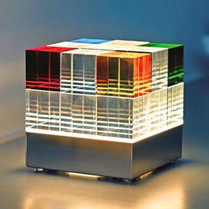 TECNOLUMEN TECNOLUMEN Cubelight CL1 stolní lampa