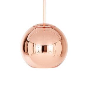 Tom Dixon Tom Dixon Copper Round kulové závěsné světlo 25cm