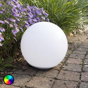 Heitronic Plovoucí solární LED světelná koule Globo