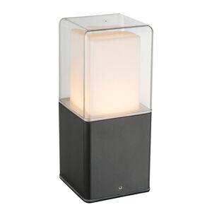 Heitronic LED soklové světlo Dalia se skleněným difuzorem