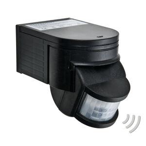Heitronic Pasivní infračervený detektor pohybu Salo černý
