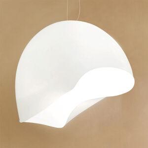 Vistosi Bílé závěsné světlo NINFEA