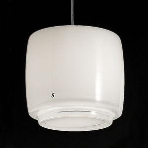 Vistosi Skleněné závěsné světlo Bot, Ø 16 cm