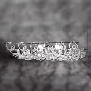 Vistosi Závěsné světlo Giogali3D 90 cm dlouhé
