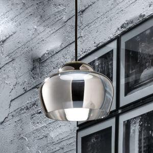 Vistosi Závěsné světlo LED Cristallina chrom