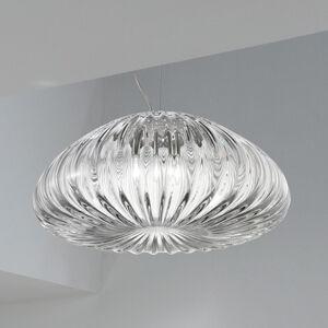 Vistosi Závěsné světlo Diamante Crystal Ø 48 cm