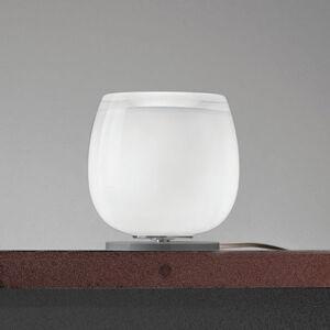 Vistosi Implode - skleněná stolní lampa Ø 16 cm