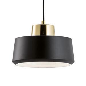 Viokef Moma - černé závěsné světlo z kovu