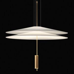 Vibia Vibia Flamingo LED závěsné světlo 2 stínidla zlatá